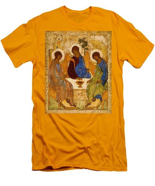 Holy Trinity. Troitsa Men's T-Shirt (Athletic Fit)