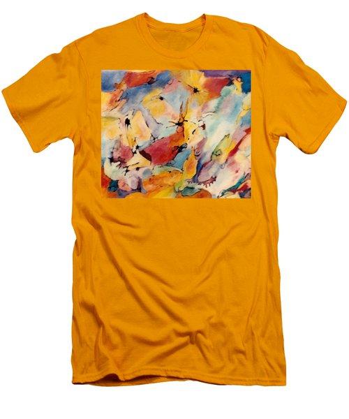 Homage A Kandinsky Men's T-Shirt (Slim Fit) by Bernard Goodman