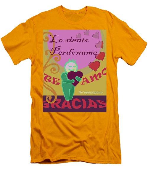 Ho'oponopono  V1 Men's T-Shirt (Athletic Fit)