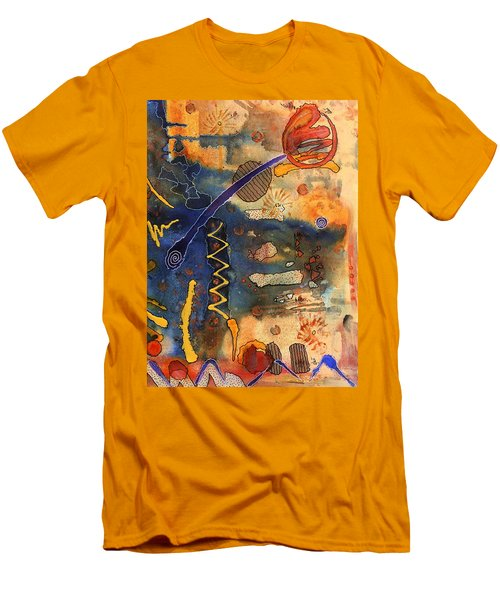 Hot Fun Out West In Arizona Men's T-Shirt (Slim Fit) by Angela L Walker