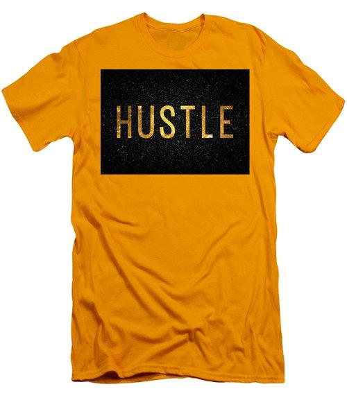 Hustle Men's T-Shirt (Slim Fit) by Taylan Apukovska