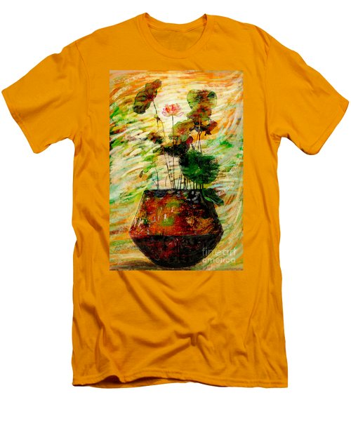 Impression In Lotus Tree Men's T-Shirt (Athletic Fit)