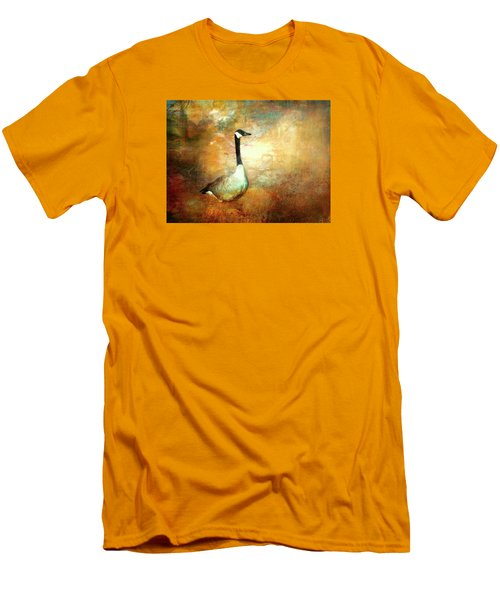 In A Quiet Place Men's T-Shirt (Slim Fit) by Bellesouth Studio