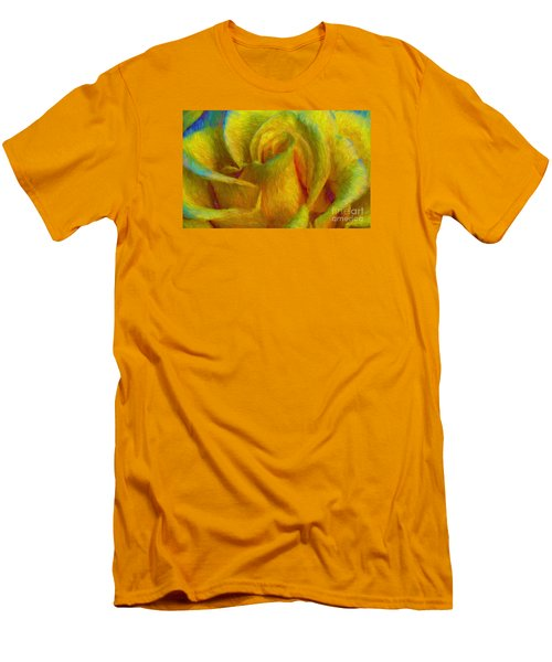 Men's T-Shirt (Slim Fit) featuring the photograph In Memory Of Vincent by John  Kolenberg