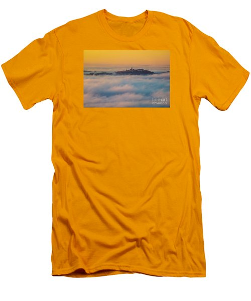 In The Mist 3 Men's T-Shirt (Slim Fit) by Jean Bernard Roussilhe
