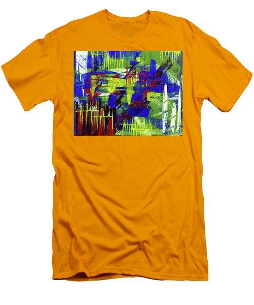 Intensity II Men's T-Shirt (Slim Fit) by Cathy Beharriell