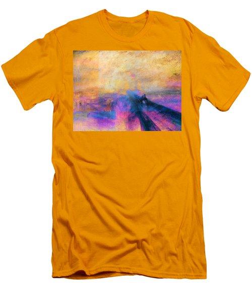 Inv Blend 12 Turner Men's T-Shirt (Slim Fit) by David Bridburg