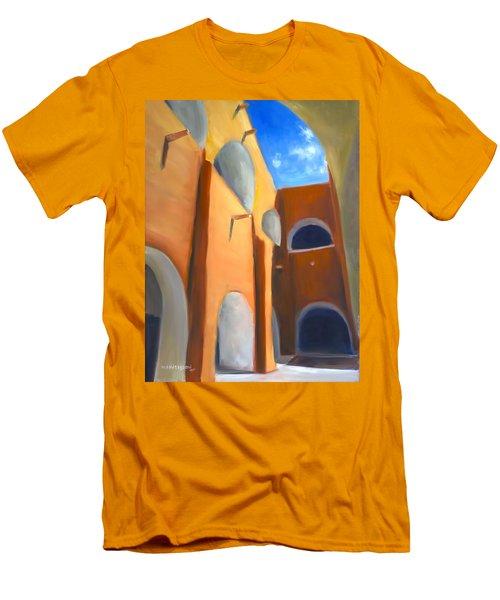 Izamal - Monastery San Antonio De Padua  Men's T-Shirt (Athletic Fit)