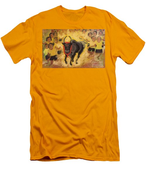 Jallikattu Men's T-Shirt (Athletic Fit)