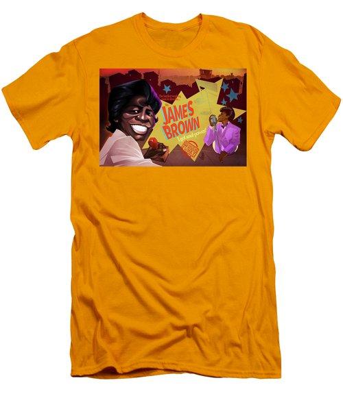 James Brown Men's T-Shirt (Athletic Fit)