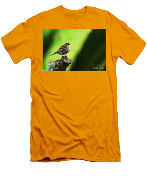 Men's T-Shirt (Slim Fit) featuring the photograph January Migration by Debby Pueschel