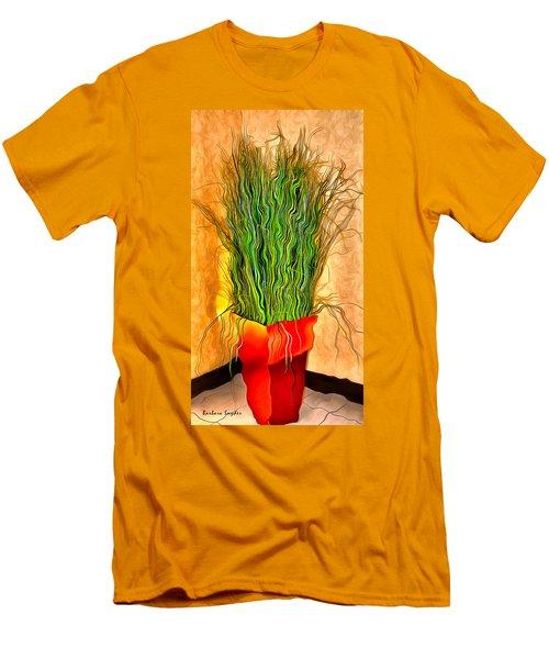 Jerry Lee Lewis Potted Plant Men's T-Shirt (Athletic Fit)