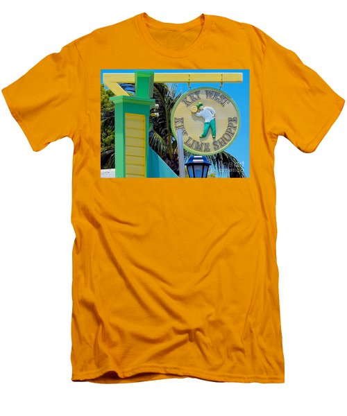 Key West Key Lime Shoppe Men's T-Shirt (Athletic Fit)