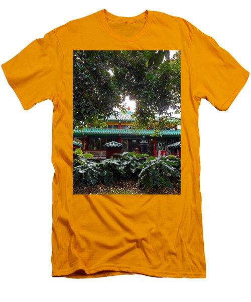 Kwon Yin Temple 4 Men's T-Shirt (Athletic Fit)