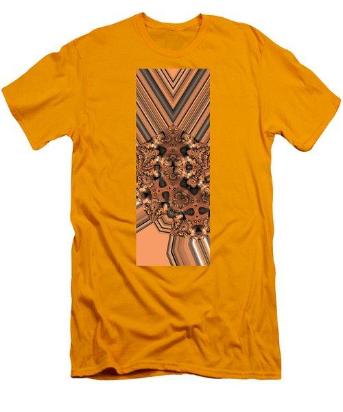 Lamp Light 3 Men's T-Shirt (Slim Fit) by Ron Bissett
