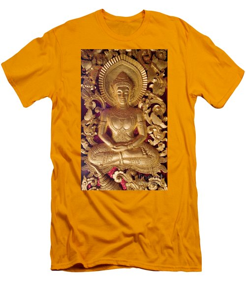 Men's T-Shirt (Slim Fit) featuring the photograph Laos_d264 by Craig Lovell