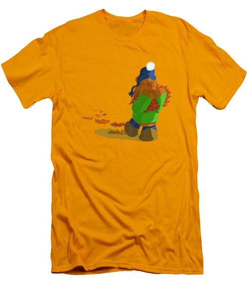 Leaf Moving Duties Men's T-Shirt (Athletic Fit)