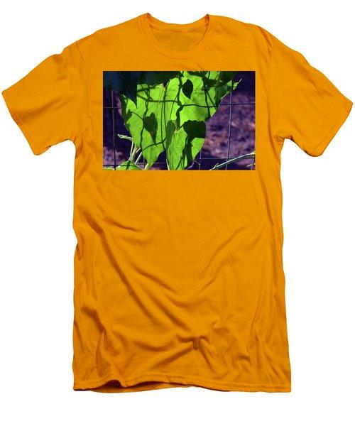 Leaf Shadows Men's T-Shirt (Athletic Fit)