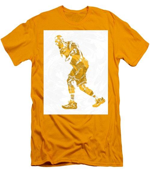 Lebron James Cleveland Cavaliers Pixel Art 13 Men's T-Shirt (Athletic Fit)