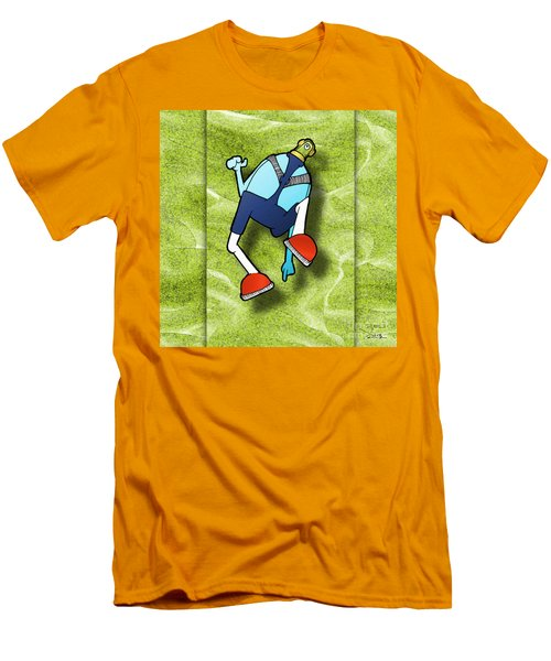 Lederhosen Men's T-Shirt (Slim Fit) by Uncle J's Monsters
