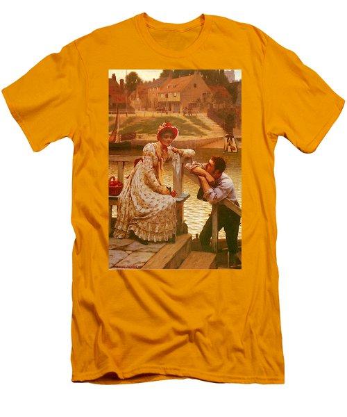 Leighton Edmund Blair Courtship Men's T-Shirt (Athletic Fit)