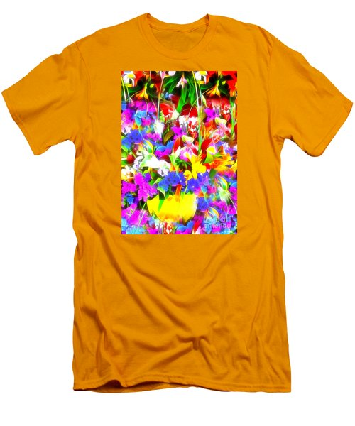 Les Jolies Fleurs Men's T-Shirt (Athletic Fit)