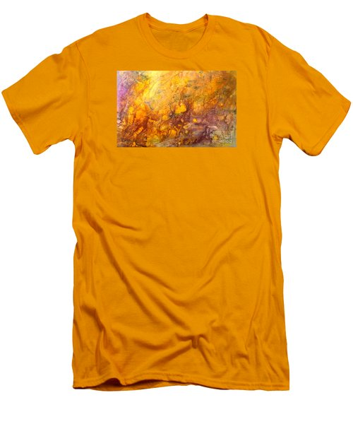 Letting The Sunshine In Men's T-Shirt (Slim Fit) by Valerie Travers