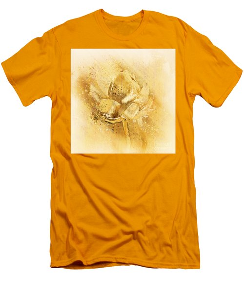 Men's T-Shirt (Slim Fit) featuring the digital art Lily My Lovely - S114sqc75v2 by Variance Collections