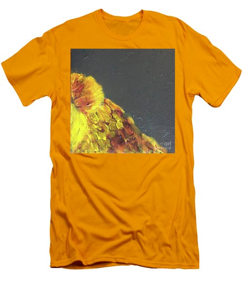 Men's T-Shirt (Athletic Fit) featuring the painting Lion Family Part 2 by Donald J Ryker III