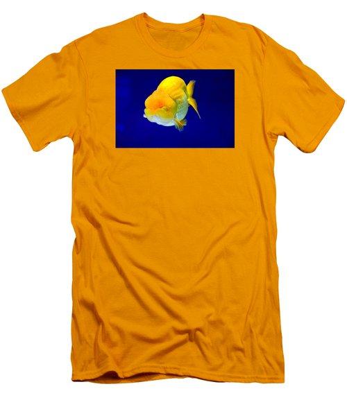 Lion Head Goldfish 5 Men's T-Shirt (Athletic Fit)