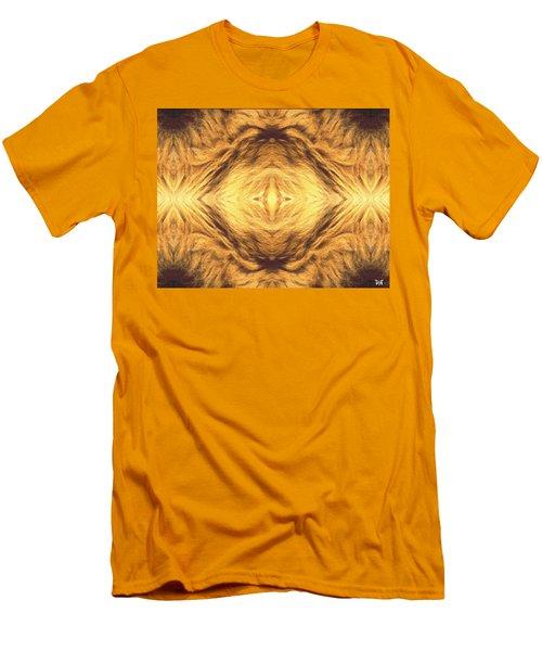 Lion's Eye Men's T-Shirt (Slim Fit) by Maria Watt
