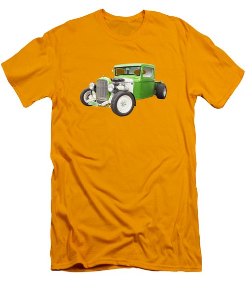 Little Green 32 Men's T-Shirt (Slim Fit) by Keith Hawley