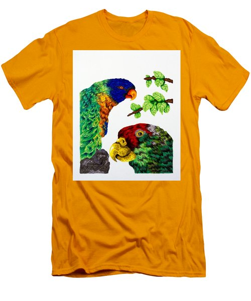 Lorikeets Men's T-Shirt (Athletic Fit)