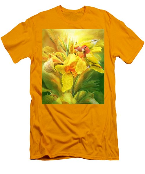 Love Among The Orchids Men's T-Shirt (Athletic Fit)