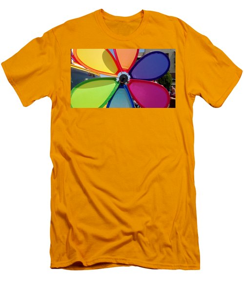 Love Wins Men's T-Shirt (Slim Fit) by Claudia Goodell