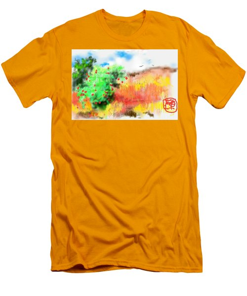 lovin Idaho autumn Men's T-Shirt (Athletic Fit)