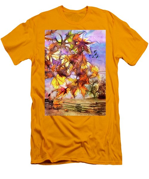 Magic Of Autumn Men's T-Shirt (Athletic Fit)