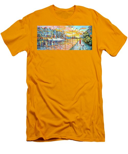 Magical Sunset Men's T-Shirt (Athletic Fit)