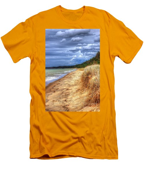 Magoon Creek North Men's T-Shirt (Slim Fit) by Randy Pollard