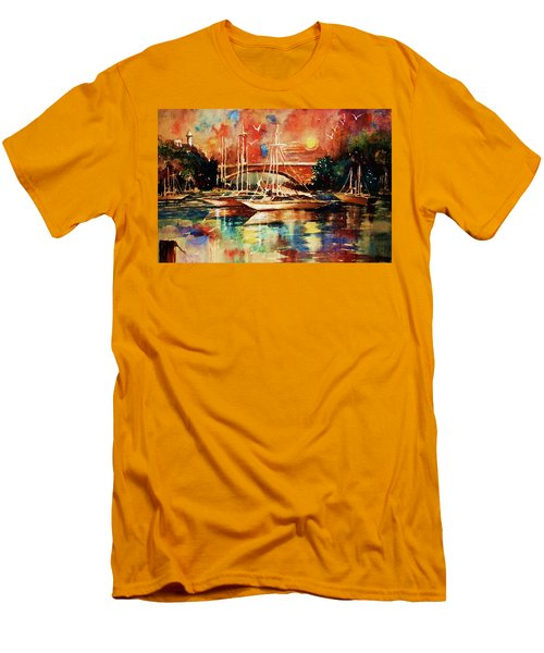 Marina Men's T-Shirt (Slim Fit)