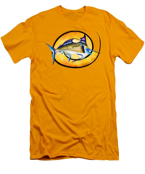 Marlinissos V1 - Violinfish Men's T-Shirt (Slim Fit) by Cersatti