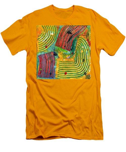Mazteca Men's T-Shirt (Slim Fit) by Phil Strang