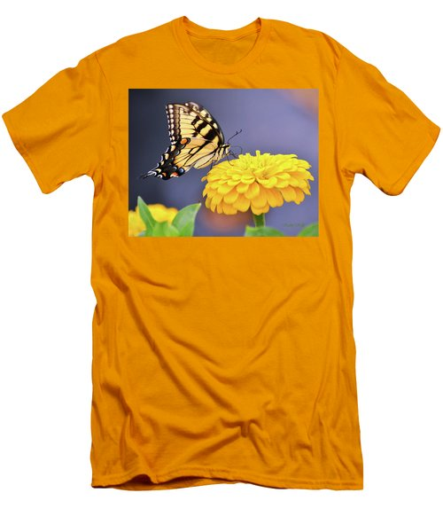 Mellow Yellow Men's T-Shirt (Athletic Fit)