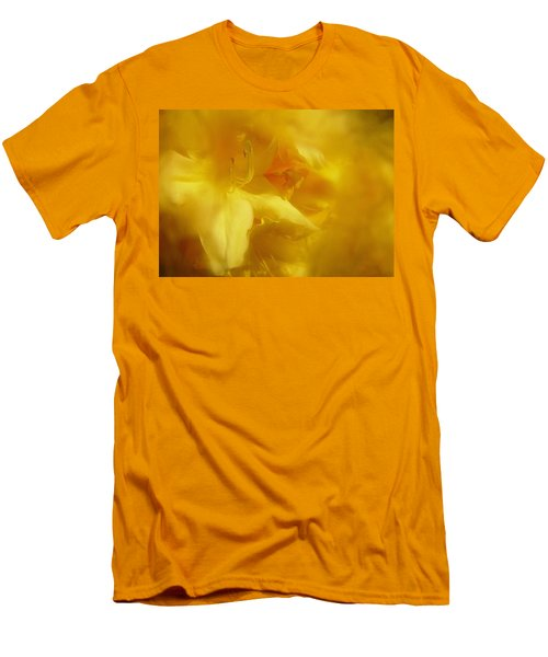 Men's T-Shirt (Slim Fit) featuring the photograph Mellow Yellow by Richard Cummings