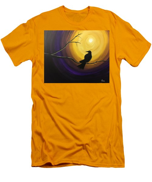 Midnight Raven Men's T-Shirt (Athletic Fit)
