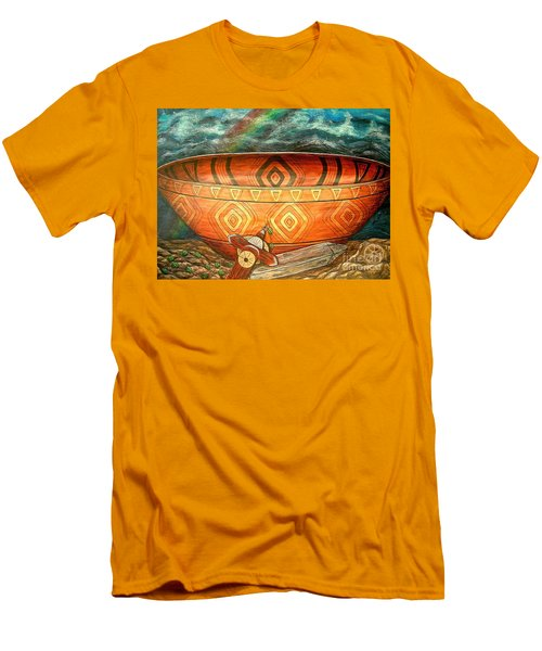 Miracles Men's T-Shirt (Slim Fit) by Kim Jones