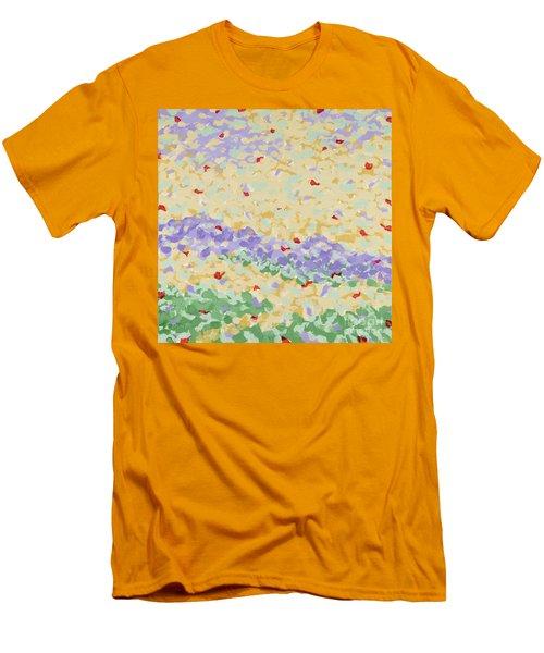 Modern Landscape Painting 4 Men's T-Shirt (Slim Fit) by Gordon Punt