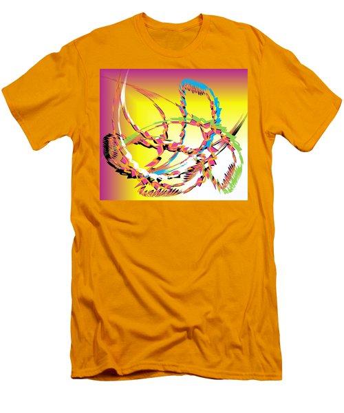 Molecular Energy Men's T-Shirt (Slim Fit) by Belinda Threeths