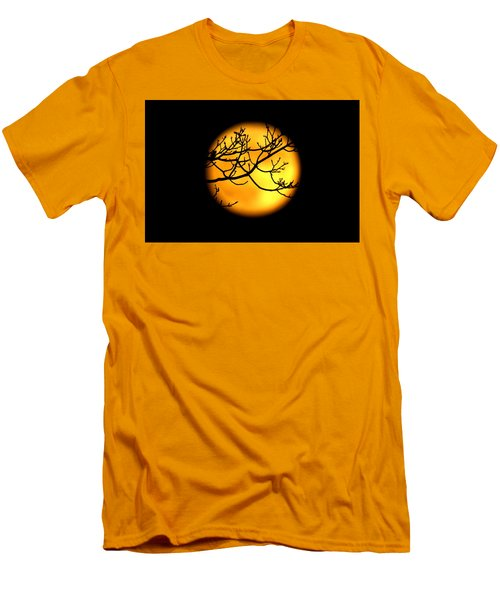 Moon In The Trees Men's T-Shirt (Athletic Fit)