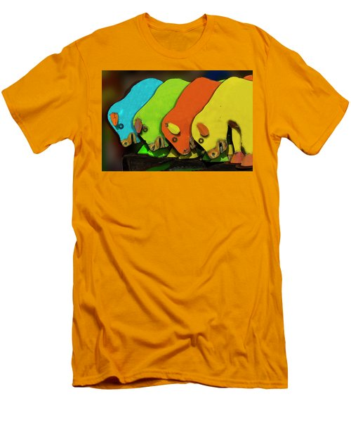 Men's T-Shirt (Slim Fit) featuring the photograph Mooving On by Paul Wear